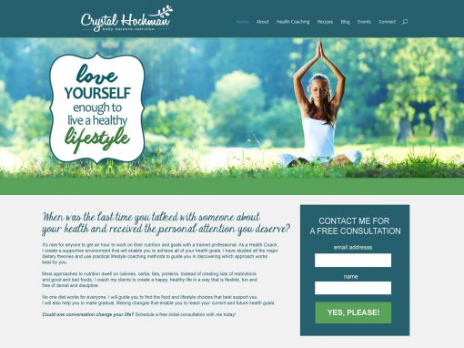 Crystal Hochman Holistic Health Coach