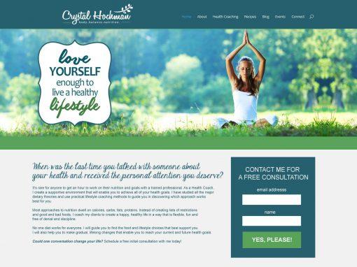 Crystal Hochman Holistic Health Coach