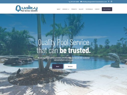 Quality Pool Service Solutions